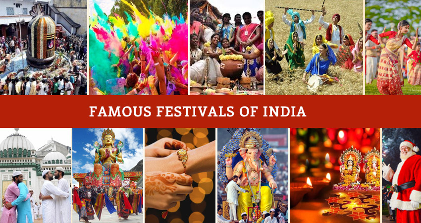 21 Famous Festivals of India to Bring Your Life Into A State of Exuberance
