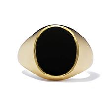 Black-Onyx Signet Ring