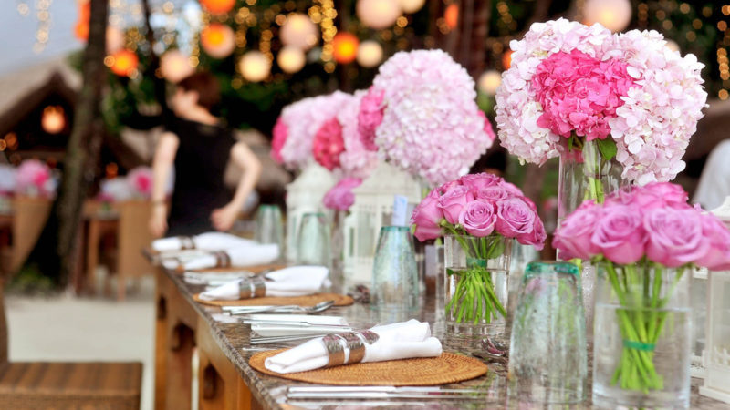 Different Types Of Wedding Decorations You Can Try