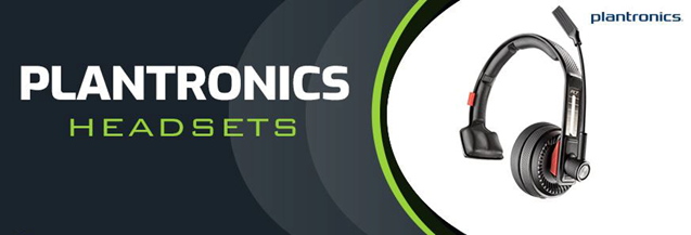 Plantronics headsets for the offices