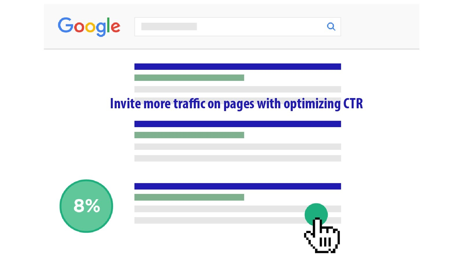 Invite more traffic on pages with optimizing CTR