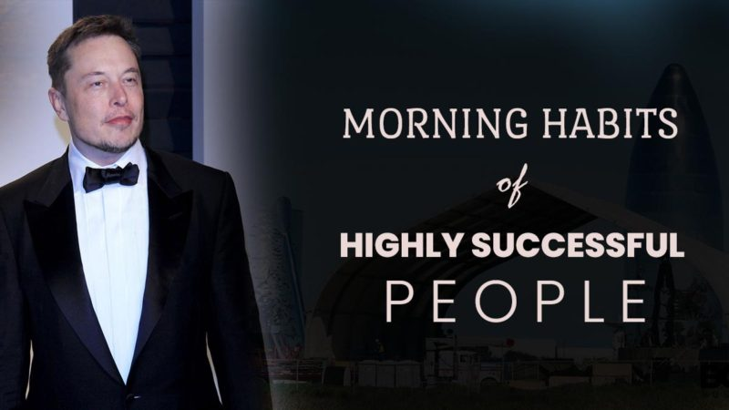 5 Common Morning Habits of Highly Successful People